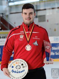 pöckner Eisstöcke -Christian Thurner Deutscher Vizemeister U23- stocksport-spoeckner.de