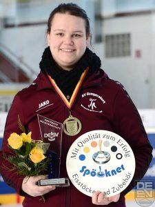 Spöckner Eisstöcke -Maria Empl Platz 3 Deutsche Meisterschaft- stocksport-spoeckner.de