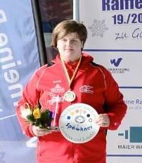 Spöckner Eisstöcke -Sabrina Englbrecht Deutsche Vizemeisterin U14- stocksport-spoeckner.de