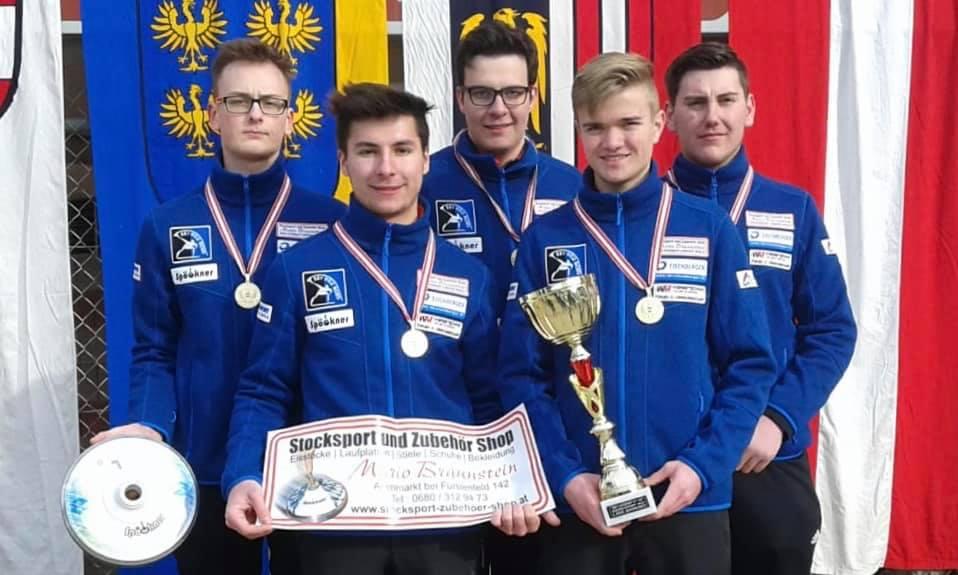 Spöckner Eisstöcke -Weiz Nord Österreichischer Meister U19- stocksport-spoeckner.de